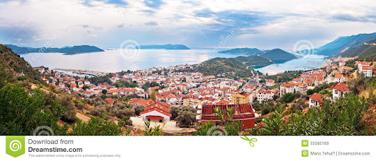 Kas Town, Turkey Royalty Free Stock Images - Image: 22585169