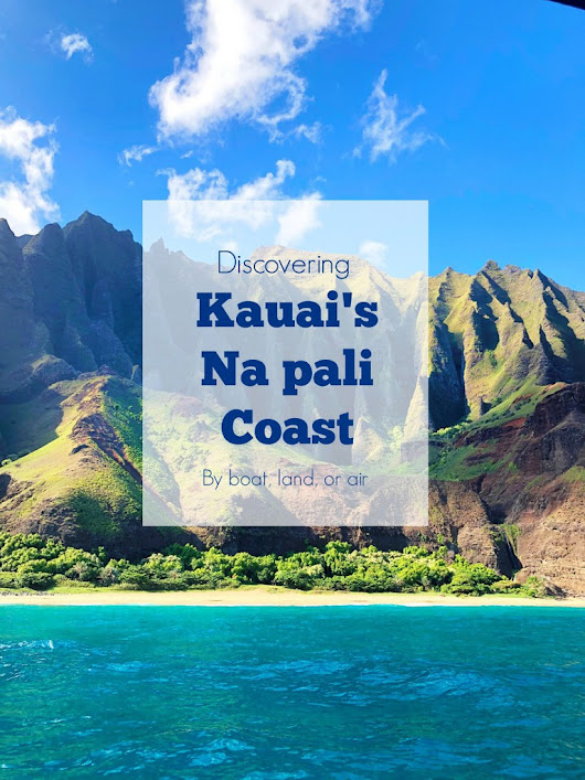 A day discovering the Napali coast - Capturing Joy with Kristen Duke