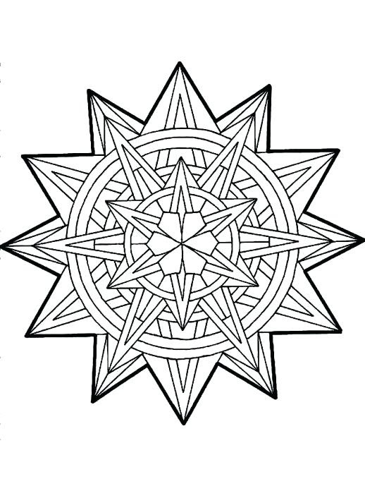 Christmas Star Coloring Page at GetColorings.com | Free ...