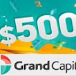 $500 Free Welcome Bonus No Deposit Offered – Grand Capital