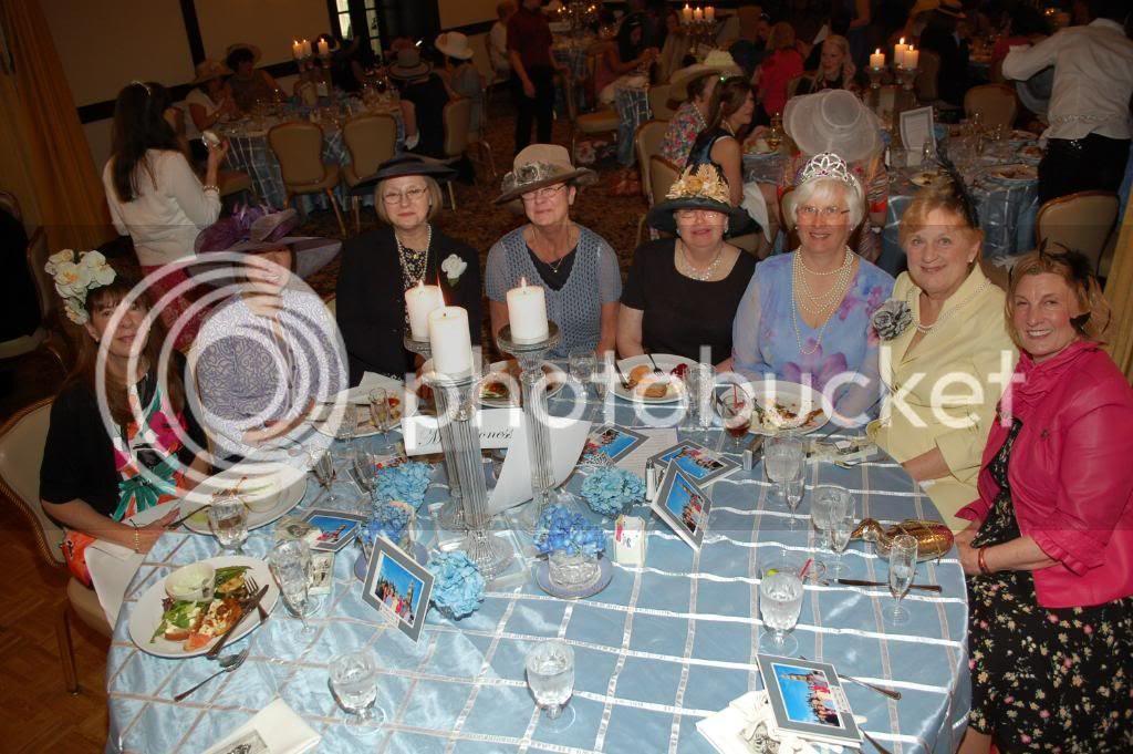 The Royal Wedding at The Smoke Rise Inn- Table 2