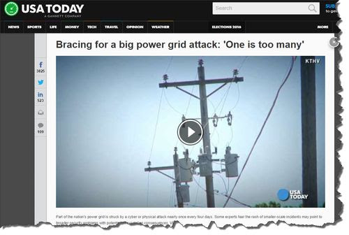 Will ISIS Hack The Power Grid?