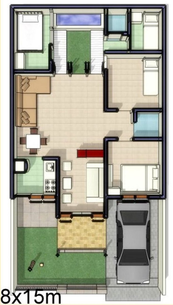 Rumah Minimalis Gambar Dan Denah | Ide Rumah Minimalis
