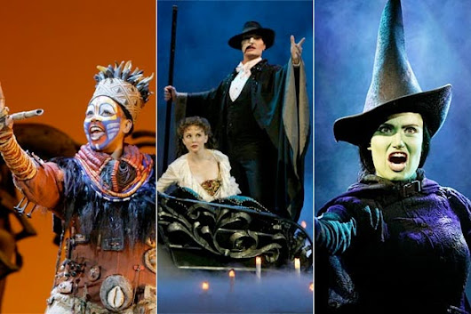 15 Top-Grossing Broadway Shows of All Time