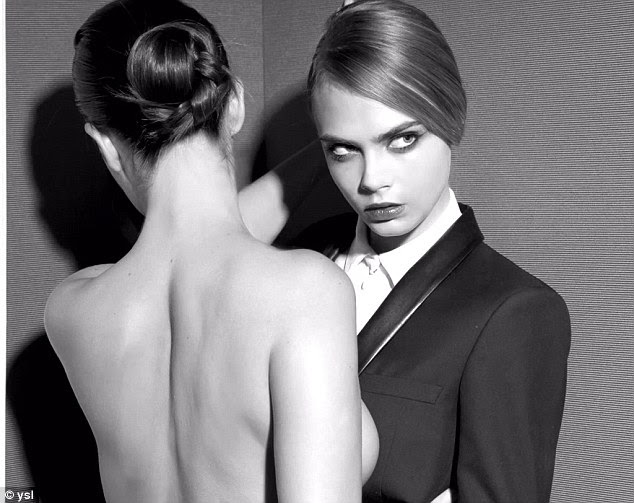 Cara Delevingne gets naked in racy new YSL beauty campaign