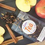 Cinnamon Apple Spice Tea | Apple Cinnamon Tea Loose Leaf Black Organic Tea