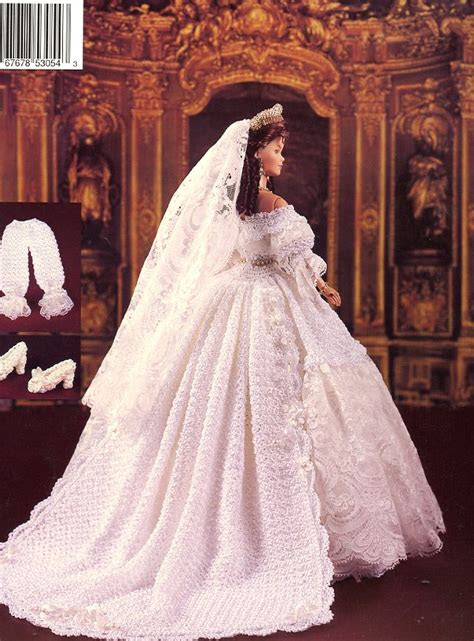 queen victorias wedding gown paradise   barbie