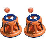 Swimline Giant Shootball Inflatable Pool Toy 90285 (2 Pack)