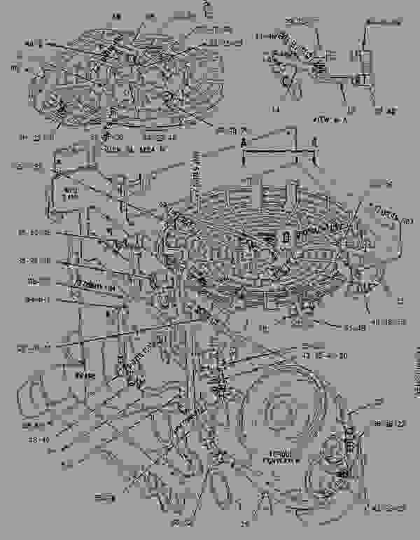 Caterpillar 3126 Engine Diagram