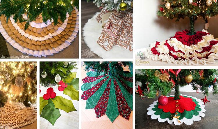 20 Absolutely Stunning Diy Christmas Tree Skirt Ideas The Art In Life