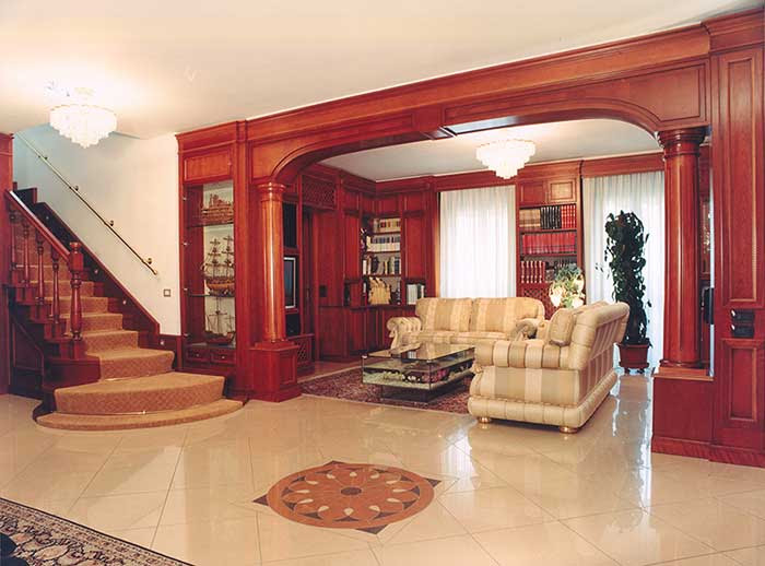 Wooden Arch Design For Hall Wooden Designs