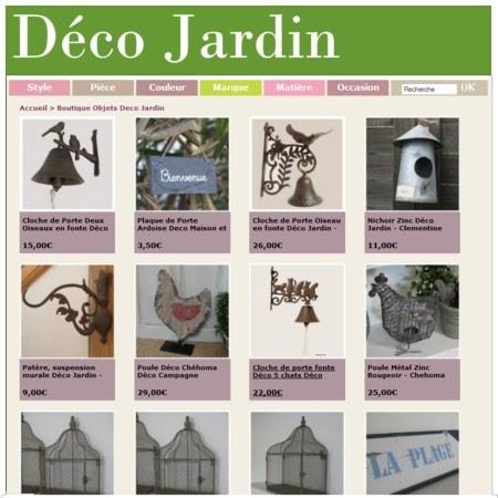 D co jardin boutique d coration en ligne pour la maison - Boutique en ligne deco maison ...