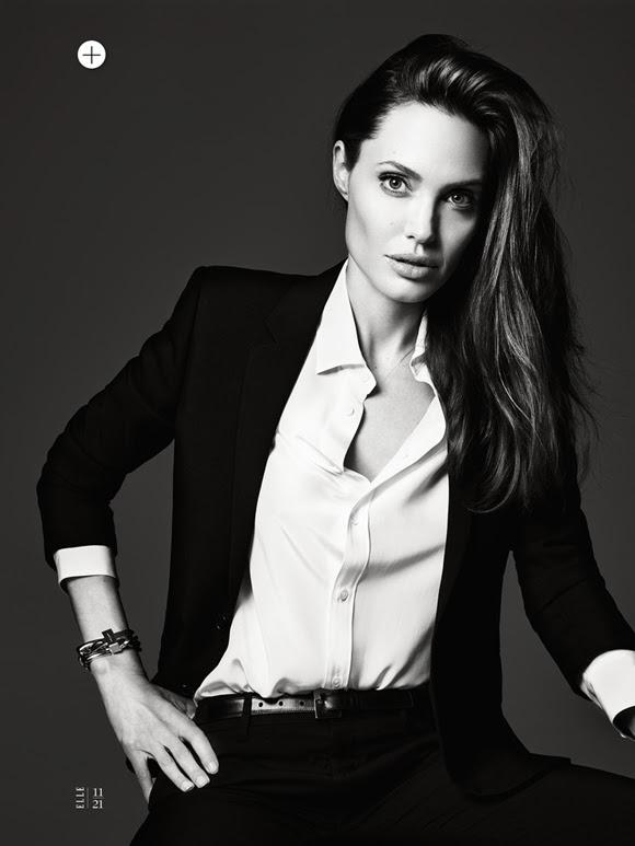 Angelina Jolie by Hedi Slimane Elle US 13