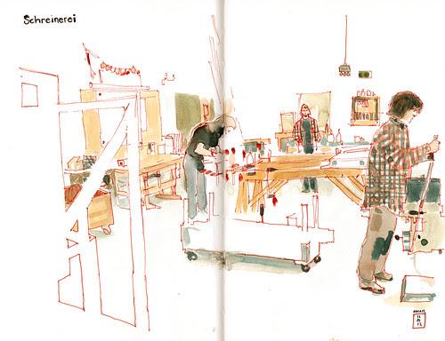 the carpentry