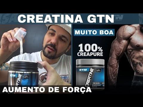 CREATINA GTN CREAPURE Uma das Melhores Creatinas do Mundo de Altíssima Qualidade