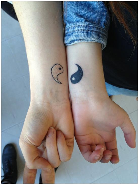 Simple Yin Yang Tattoo On Wrist Design Of Tattoosdesign Of Tattoos