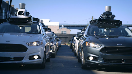Behind the wheel of Uber's new self-driving car, which hits the road today