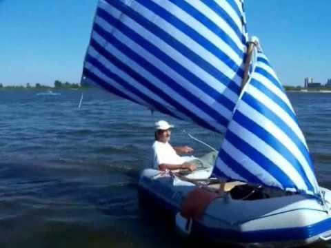 Парусное вооружение к надуаной лодке