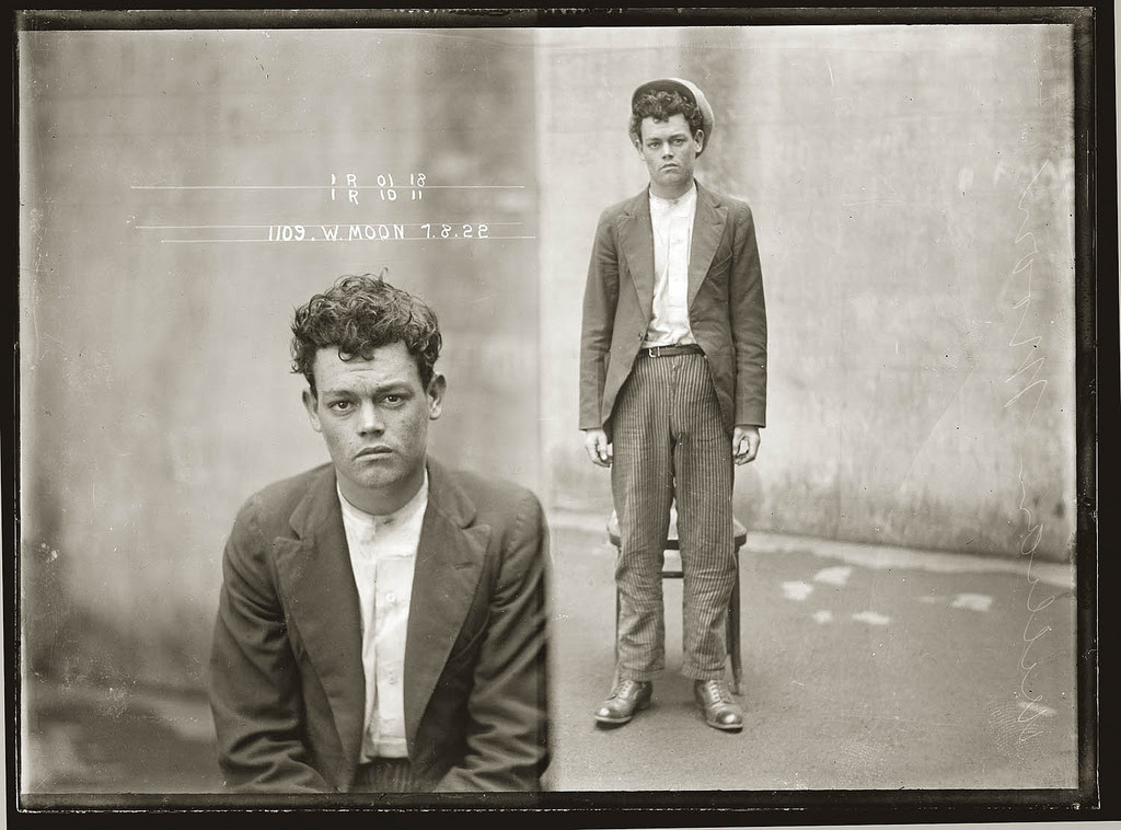 photo police sydney australie mugshot 1920 44 Portraits de criminels australiens dans les années 1920  photo photographie histoire featured art