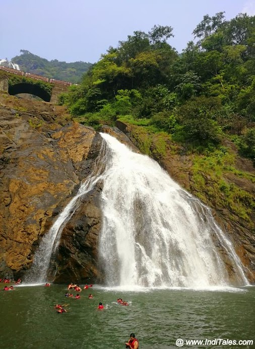 Dudhsagar Falls, Goa - Trip to one of the most beautiful Waterfalls of India read more watch video  ...