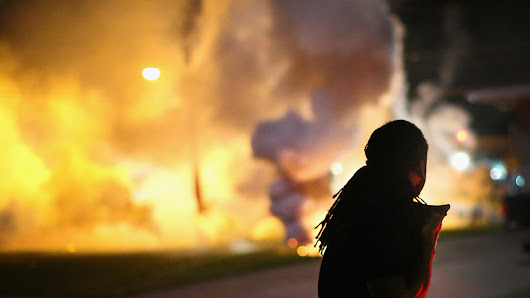 Tear gas is banned in international warfare — and in use in Ferguson, MO