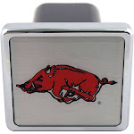 """Bully CR-907 Collegiate Hitch Cover with Arkansas College Logo for 2"""" Receivers"""