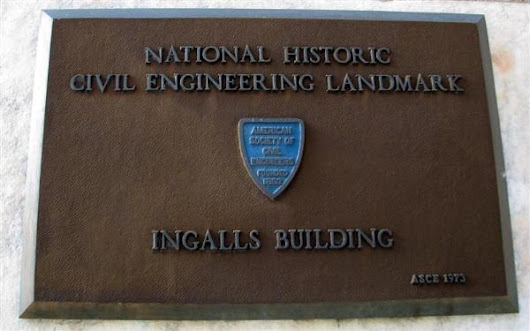 World's First Reinforced Concrete (RC) Skyscrapper: The Ingalls Building