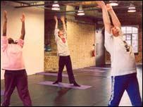 Yoga for the homeless