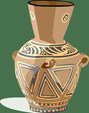 陶器 ロイヤリティ無料ベクタークリップアートイラスト Hous1369
