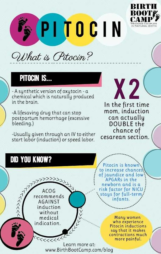 What is Pitocin? - Birth Boot Camp® Natural Childbirth Education Classes