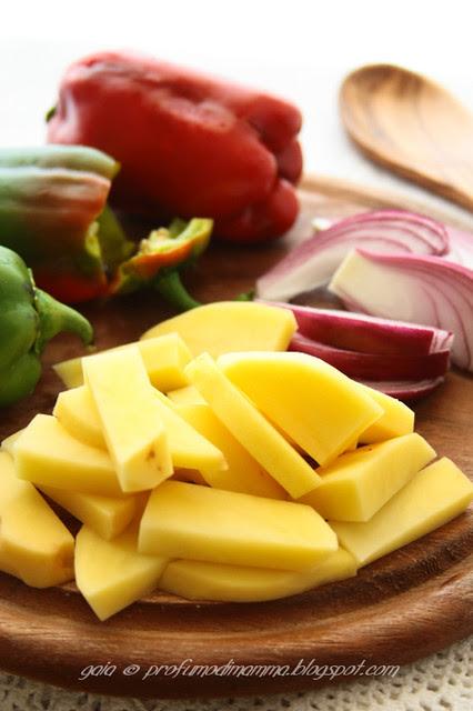 Peperoni e Patate (e cipolle)