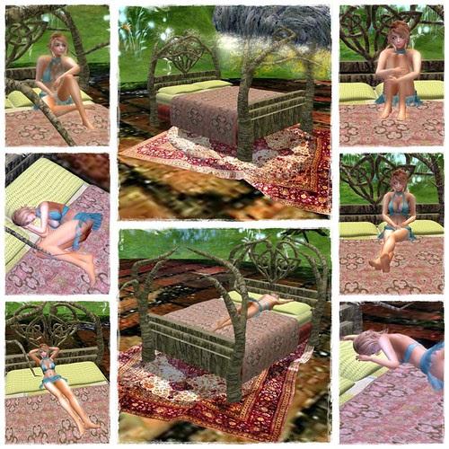 Fantasy Faire - Fairy Cake Bed