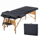 """Massage Table Portable Massage Bed Spa Bed 73"""" Long 28"""" Wide Hight Adjustable Massage Table 2 Folding Massage Bed Spa Bed Facial Cradle Salon Bed W/"""