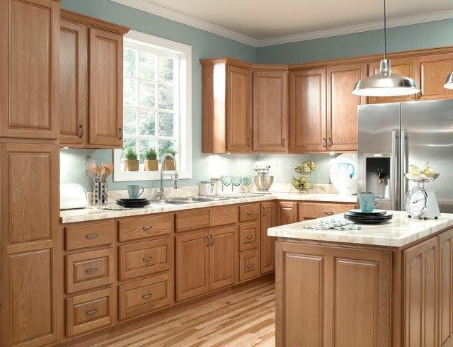 Honey Oak Kitchen Cabinets - Home Furniture Design