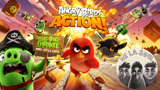 Rovio Exec Explains How De La Soul Flocked To 'Angry Birds'
