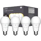 C by GE Soft White Smart Bulbs (4 LED A19 Light Bulbs) - White