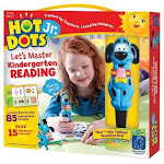 Hot Dots Jr. Let's Master Kindergarten Reading Interactive Education Printed Book (eii-2391) (eii2391)