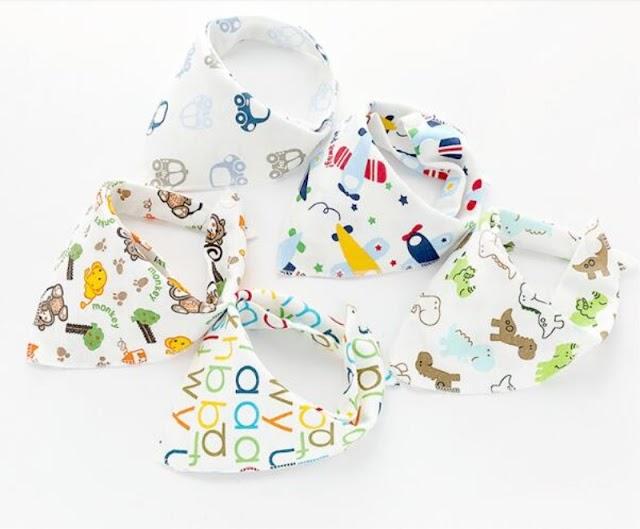 Купить 20 шт. лот для полоскания рта полотенца детские треугольное полотенце Слюнявчики хлопок нагрудник От 0 до 12 месяцев новорожденных поставки Недорого H2 Купить