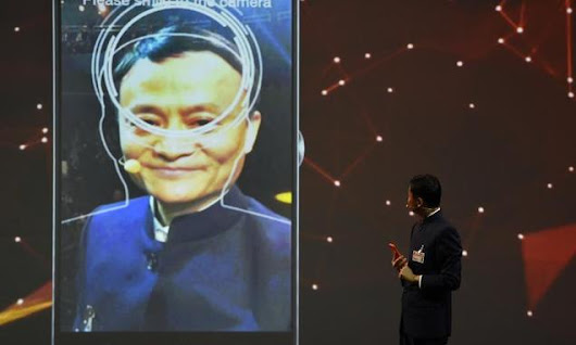 China's Alibaba shows off pay-with-your-face technology at IT fair