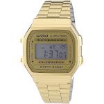 Casio Men's A168WG-9 Vintage Digital Illuminator Gold-Tone Stainless Steel Watch - Gold-Tone