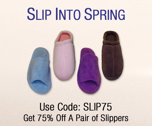 75 off slippers