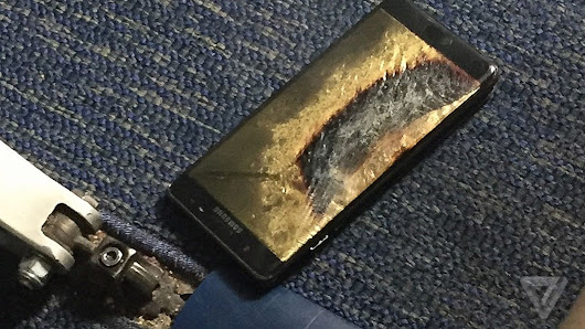 Replacement Samsung Galaxy Note 7 phone catches fire on Southwest plane