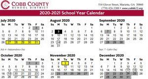 Cobb County Schools Calendar 2022.Lunar Calendar Cobbk12 Calendar 2021