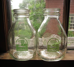 Cedar Summit Farm Cream Bottles