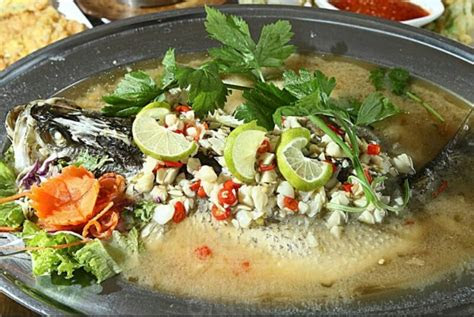 resepi siakap stim limau ala thai prik kee noo sharing