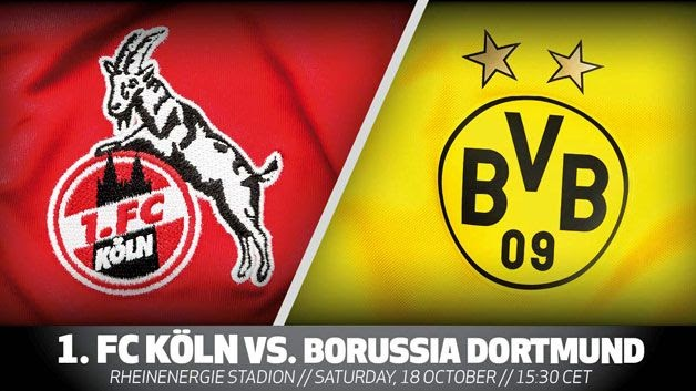 Watch Live Stream Match: 1. FC Köln  vs  Borussia Dortmund