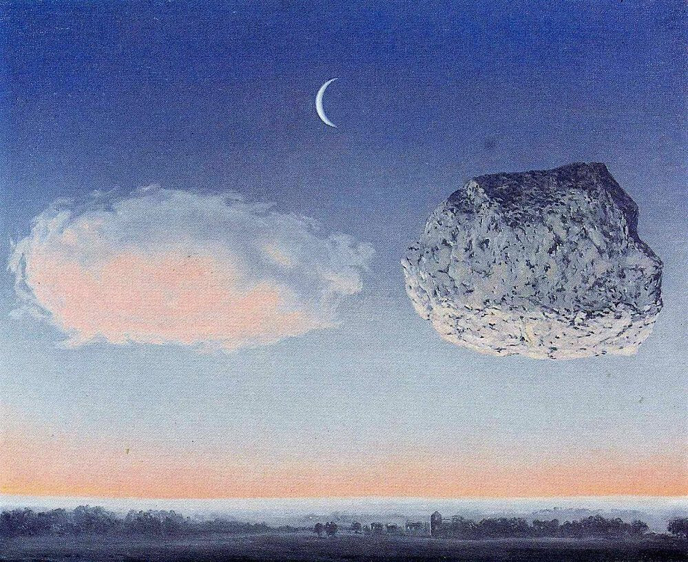 The Battle of the Argonne, 1959 by Rene Magritte