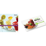Ninja Blended Healthy Drink Recipe Handbook & Nutritional Goodness Cook Book by VM Express