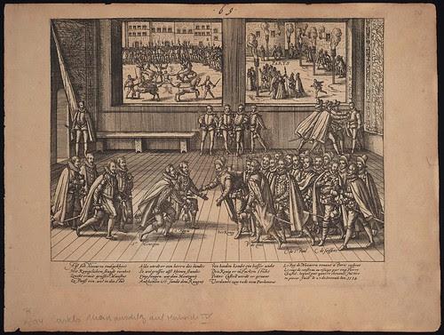 Anschlag des Pierre Chastel auf Heinrich IV (c 1594)