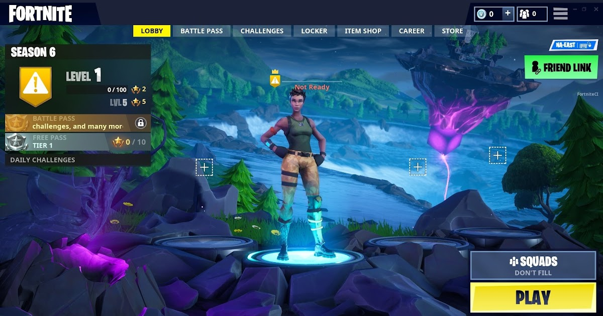 Fortnite Mobile Season 7 Lobby Get V Bucks Generator
